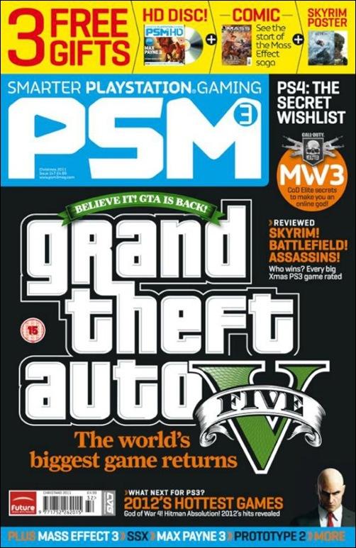 Журнал PSM 3 GTA V
