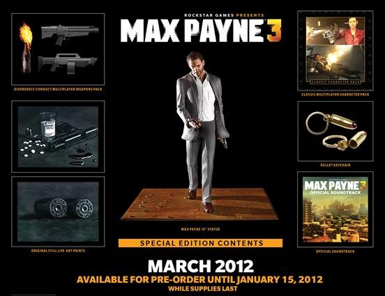 Специальное издание Max Payne 3