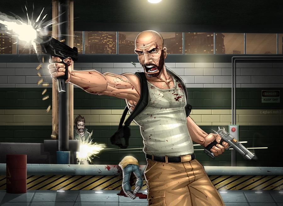 Max Payne 3 фанарт/fanarts