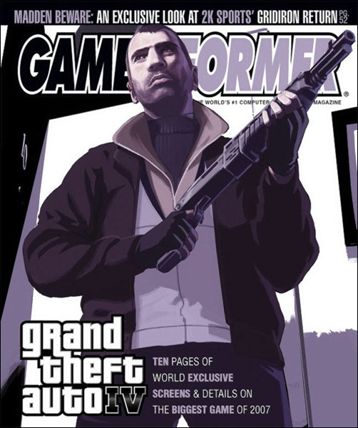 Обложка GameInformer GTA 5