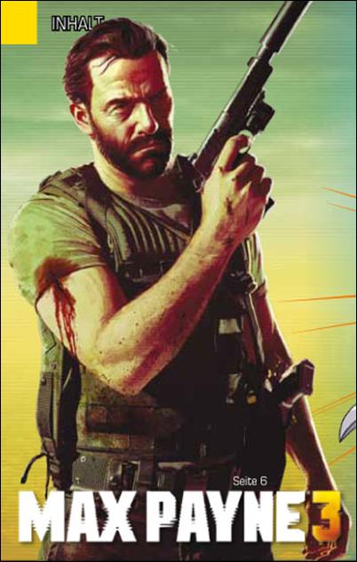 Max Payne 3 PSM January 2012
