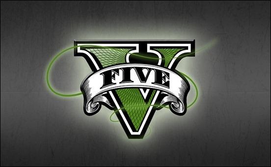 Логотип GTA 5, фан арт