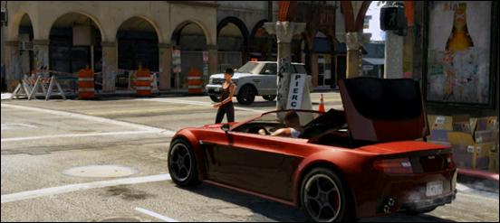 Модификации автормобилей в GTA V