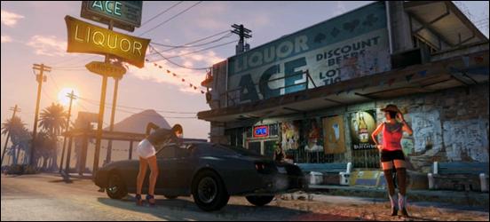 Масштабы игрового мира GTA V