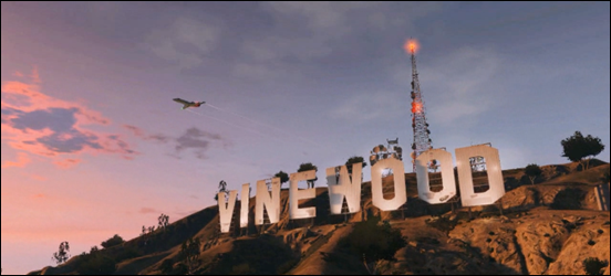 Лос Санстос и прилегающие окрестности в GTA V