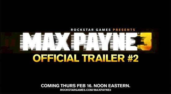 Max Payne 3 трейлер видео новое информация video trailer