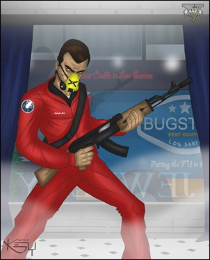 Рисунки GTA
