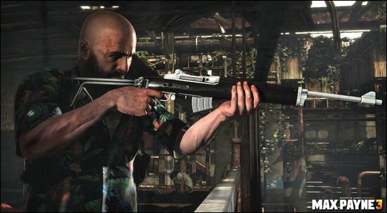 Оружие из Max Payne 3 демонстрация