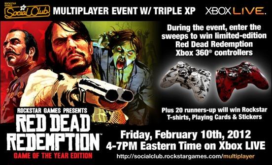 Эвент Red Dead Redemption 10-го февраля 2012 года