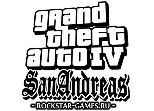 Логотип Grand Theft Auto 4: San Anreas R.A.G.E.