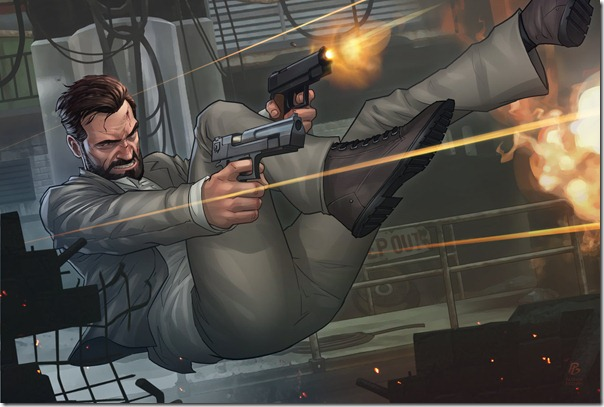 Max Payne 3, нарисовал Патрик Браун